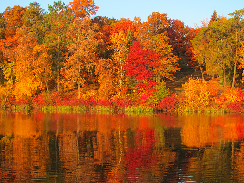 Fall Color at R&D Resort & Campground